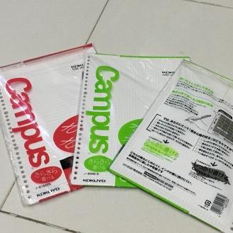 Kokuyo Binder Paper A4